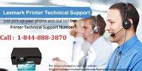 Lexmark Printer Technologies 1-844-888-3870