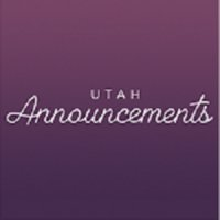 Utah Announcements
