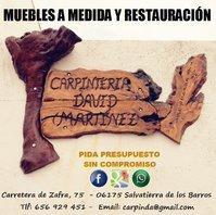 Carpintería David Martínez Ceballos
