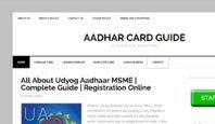 Aadhar Card Guide/Yamin Kamoh