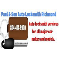 Paul & Son-Locksmith Auto Richmond, VA