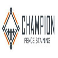 Champion Fence Staining