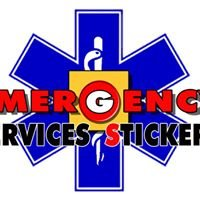 Emergency Services Stickers