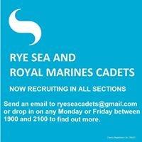 Rye Sea and Royal Marines Cadets