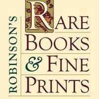 Robinson's Rare Books & Fine Prints