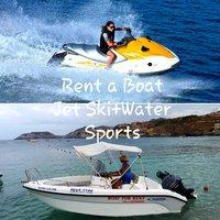 RENT A BOAT -  WATER SPORTS - JET SKI  - Agia pelagia- Crete