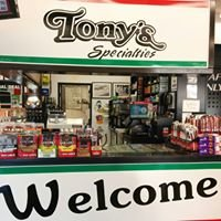 Tony's Specialties
