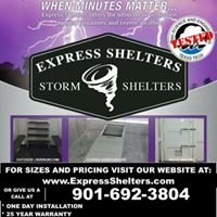 """Express """"Storm"""" Shelters"""