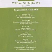 Witham St Hughs Women's Institute