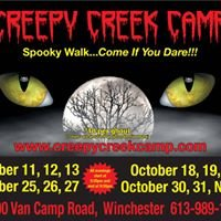 Creepy Creek Camp