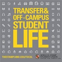 UMD Transfer and Off-Campus Student Life