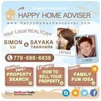 Simon Lu & Sayaka Takahara Personal Real Estate Corporation