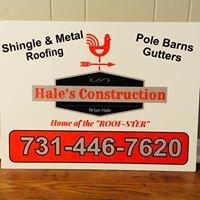 Hale's Construction