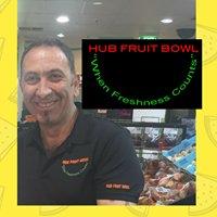 The Hub Fruit Bowl
