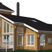 Off-Grid Tømmerhuset i Husvika