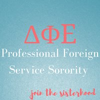 DPE Professional Foreign Service Sorority Alpha Chapter