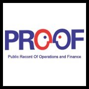 Public Record of Operations and Finance