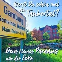 Bahnhof Gamburg - Ferienwohnung und Veranstaltungssaal - Liebliches Taubertal