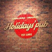 Holidays' pub Ljubljana