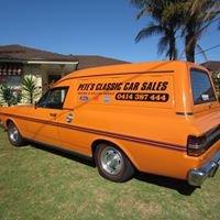 Pete's Classic Car Sales