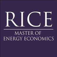 Rice University Masters in Energy Economics - Meecon