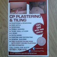 C P Plastering & Tiling