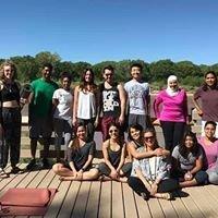 Yoga on the Rio Grande