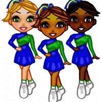 Green Starlettes Drill Team