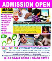 Chennai Ace 3D Chennai Best Jewellery Design CAD Jobs Training Institute
