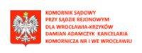 Komornik Sądowy przy Sądzie Rejonowym dla Wrocławia-Krzyków Damian Adamczyk