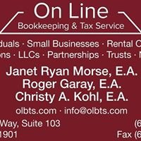 On Line Bookkeeping & Tax Service