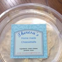"Theresa's Delectables, ""Home of Theresa's Homemade Cheeseballs"""