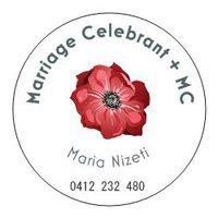 Maria Nizeti Marriage Celebrant + Funeral Celebrant