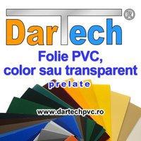 Dartech: Prelata PVC perdea si folie transparent sau color