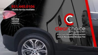 Clear Choice Windshield Repair, Replacement and Tint