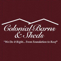 Colonial Barns & Sheds