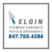 Elgin Stamped Concrete Patio & Driveway Contractors