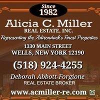 Alicia C. Miller Real Estate, Inc.  Adirondack Properties & Homes