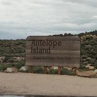 Antelope Island at The Great Salt Lake