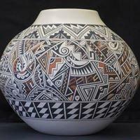 Traditional Jemez Pueblo Pottery by Reyes Madalena