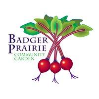 Badger Prairie Community Garden