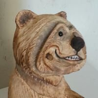 Beehive Bears Carving