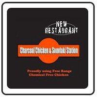 Charcoal Chicken & Souvlaki Station