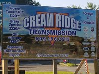 Cream Ridge Transmission