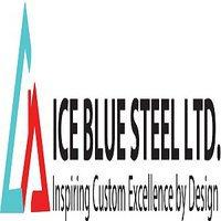 Ice Blue Steel Railings & Gates