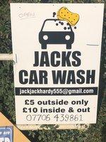 Jacks carwash service