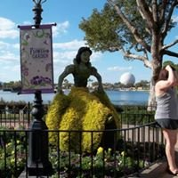 Epcot International Flower and Garden Festival Fans