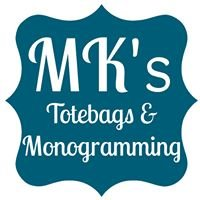 MK's Totebags and Monogramming