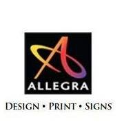 Allegra Design Print Signs