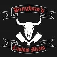 Bingham's Custom Meats| Butcher shop in Morgan Utah